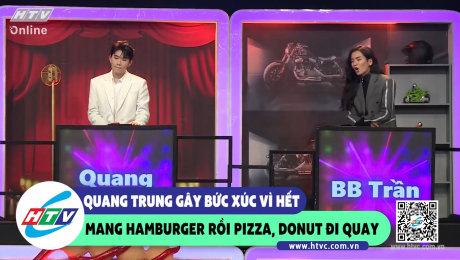 Xem Show CLIP HÀI Quang Trung gây bức xúc vì hết mang hamburger rồi pizza. donut đi quay HD Online.